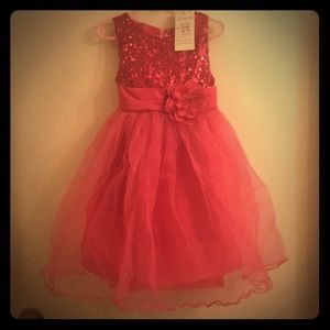 Other - Girls sequined party dress